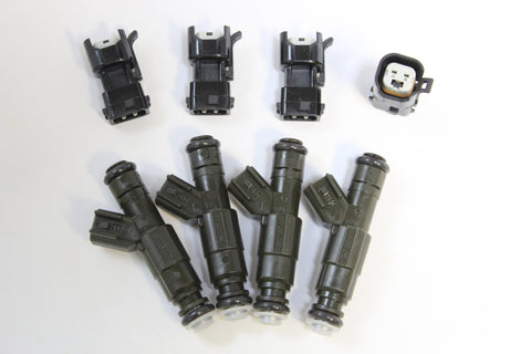 Bosch 3rd Generation 4 Hole Upgrade EV6 Fuel Injectors for 1996 - 2002 Jeep Dodge 2.5L Engines