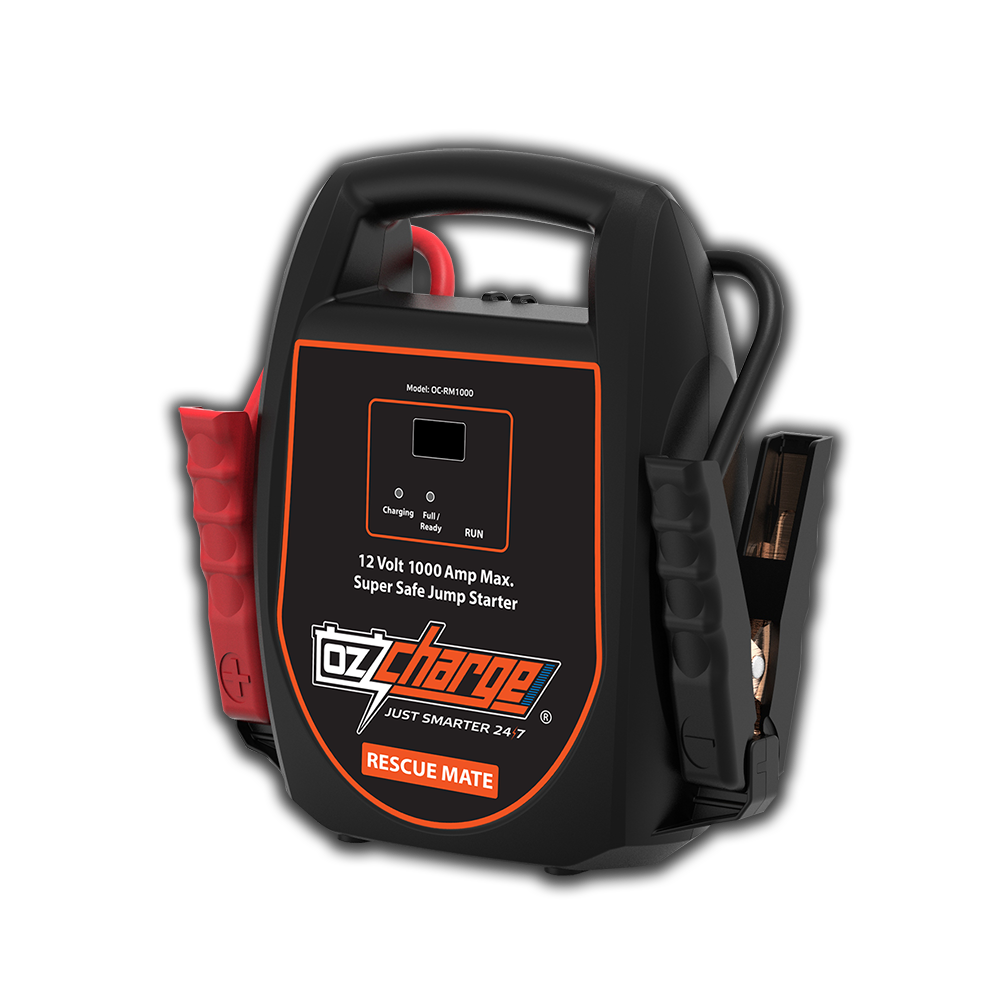 1000A Battery-less Jump Starter - Rescue Mate