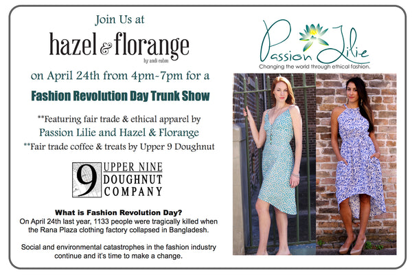 Fashion Revolution Day Trunk Show