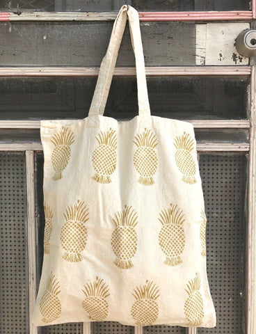 Passion Lilie Pineapple Tote