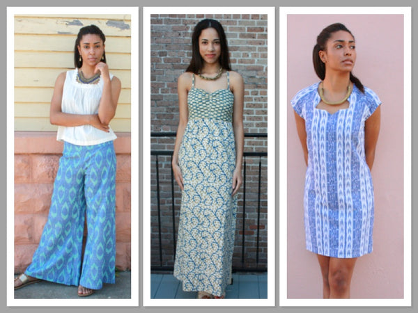 Passion Lilie fair trade, eco and ethical dresses, skirts, pants and tops.
