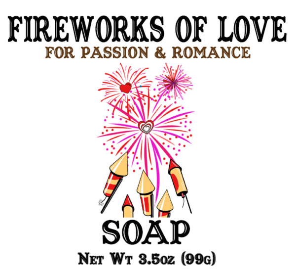 Fireworks of Love Soap