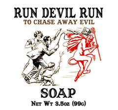 Run Devil Run Soap