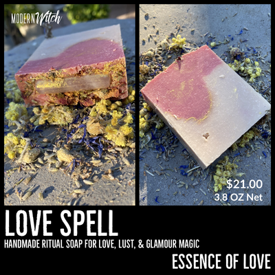 Love Spell Ritual Soap