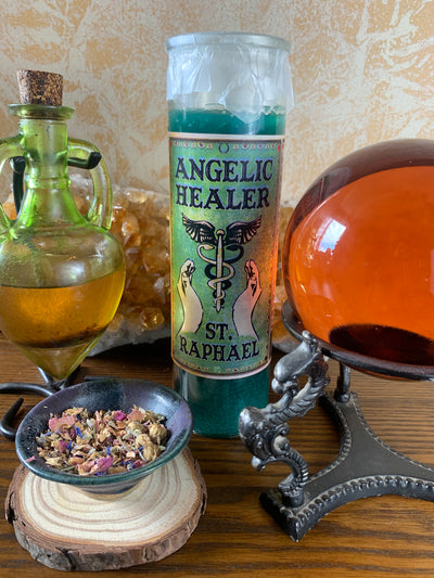 Angelic Healer Candle