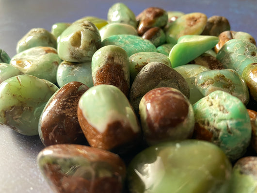 Tumbled Chrysoprase ($7)