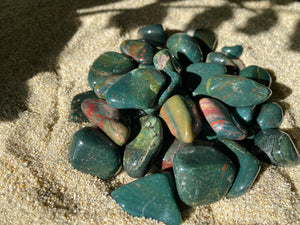 Tumbled Bloodstone ($3)