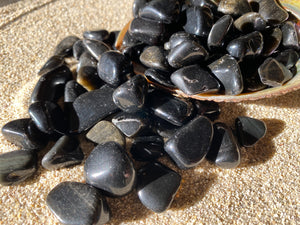 Tumbled Black Obsidian ($2)