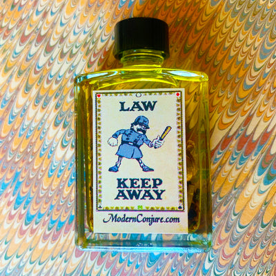 Law Keep Away Conjure Oil