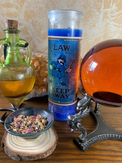 Law Keep Away Candle