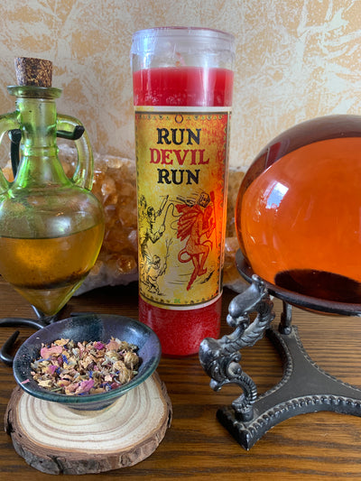 Run Devil Run Candle