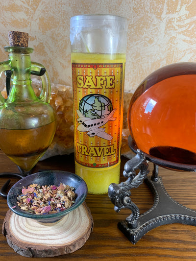 Safe Travel Candle