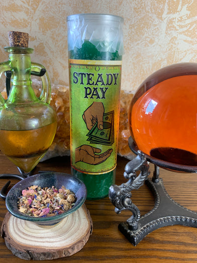 Steady Pay Candle