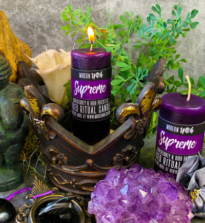 Supreme, Hand Poured Candle by Modern Witch™