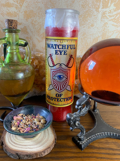 Watchful Eye Of Protection Candle