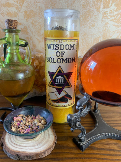 Wisdom of Solomon Candle