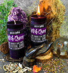 Witch Queen, Hand Poured Candle by Modern Witch™