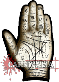 Palmistry Hand Sign