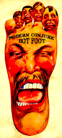 Hot Foot Candle