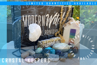 Modern Witch Crystal Keepers Box Set