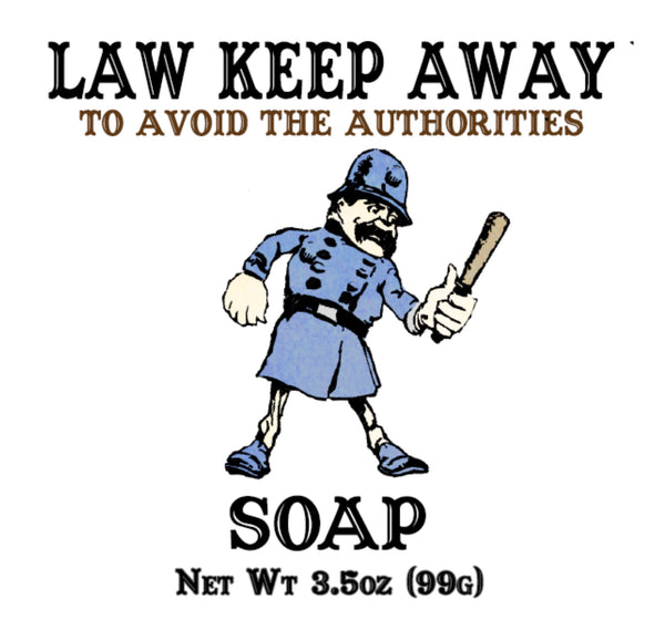 Law Keep Away Soap