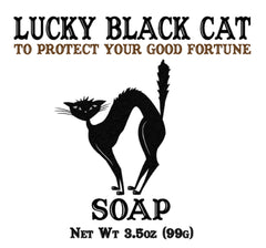 Lucky Black Cat Soap