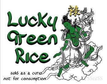 Lucky Green Rice