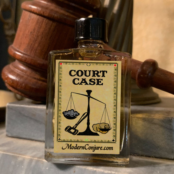 Court Case Conjure Oil