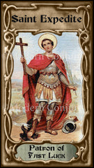 St. Expedite Candle