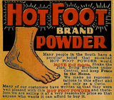 Hot Foot Ritual Powder