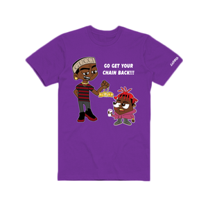 Get Your Chain Back - Purple T-Shirt