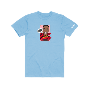 Biggest Comeback - Powder Blue T-Shirt