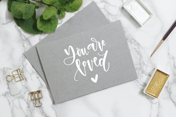 Quotes + Lettering Mockup