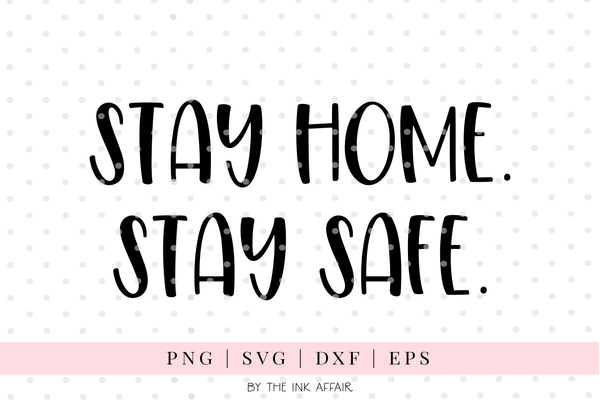 Stay Home Quotes Free SVG Bundle