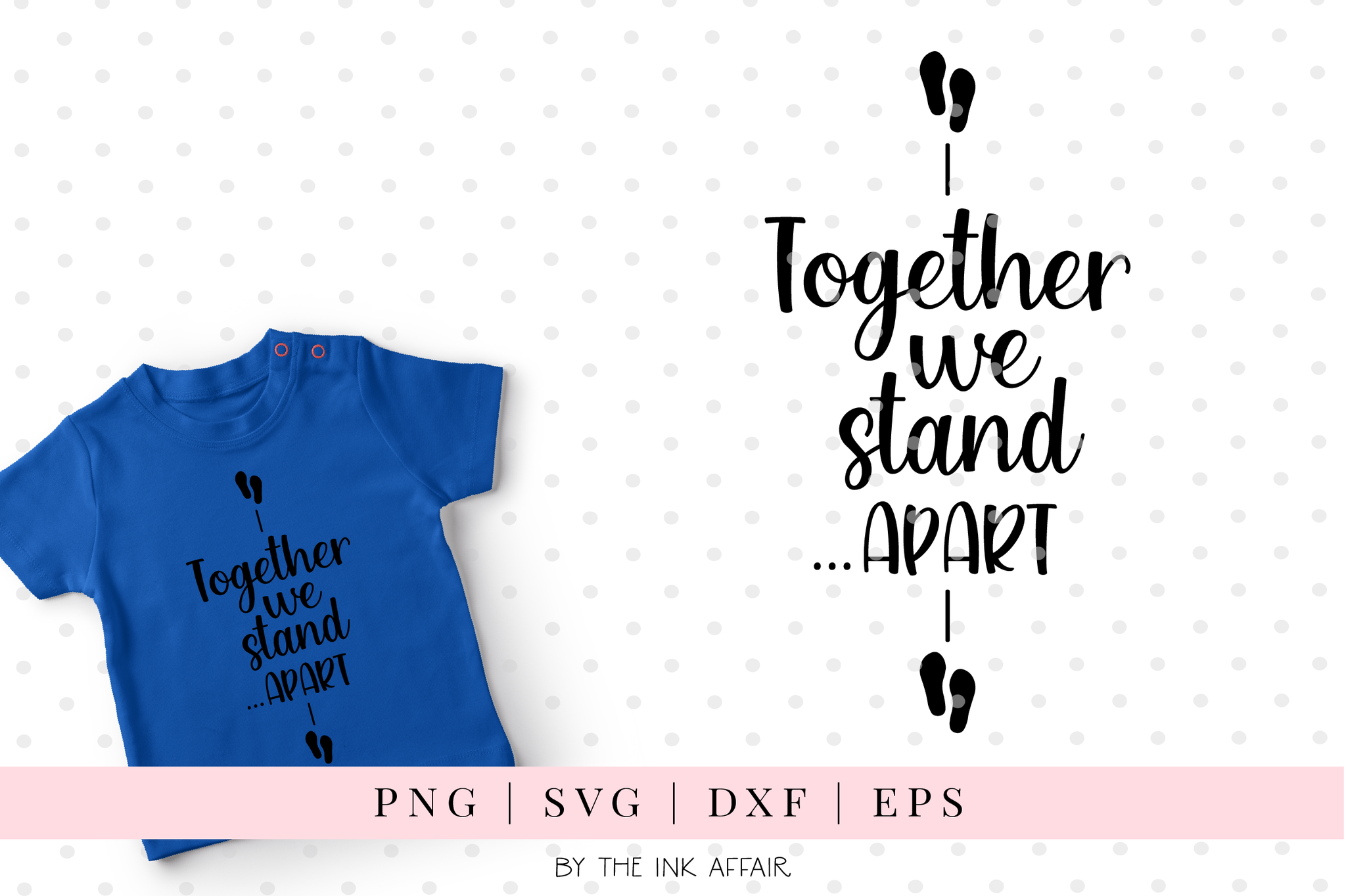Together we stand.. apart SVG