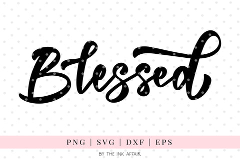 Blessed SVG
