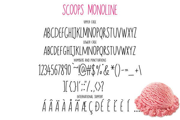 Scoops Font