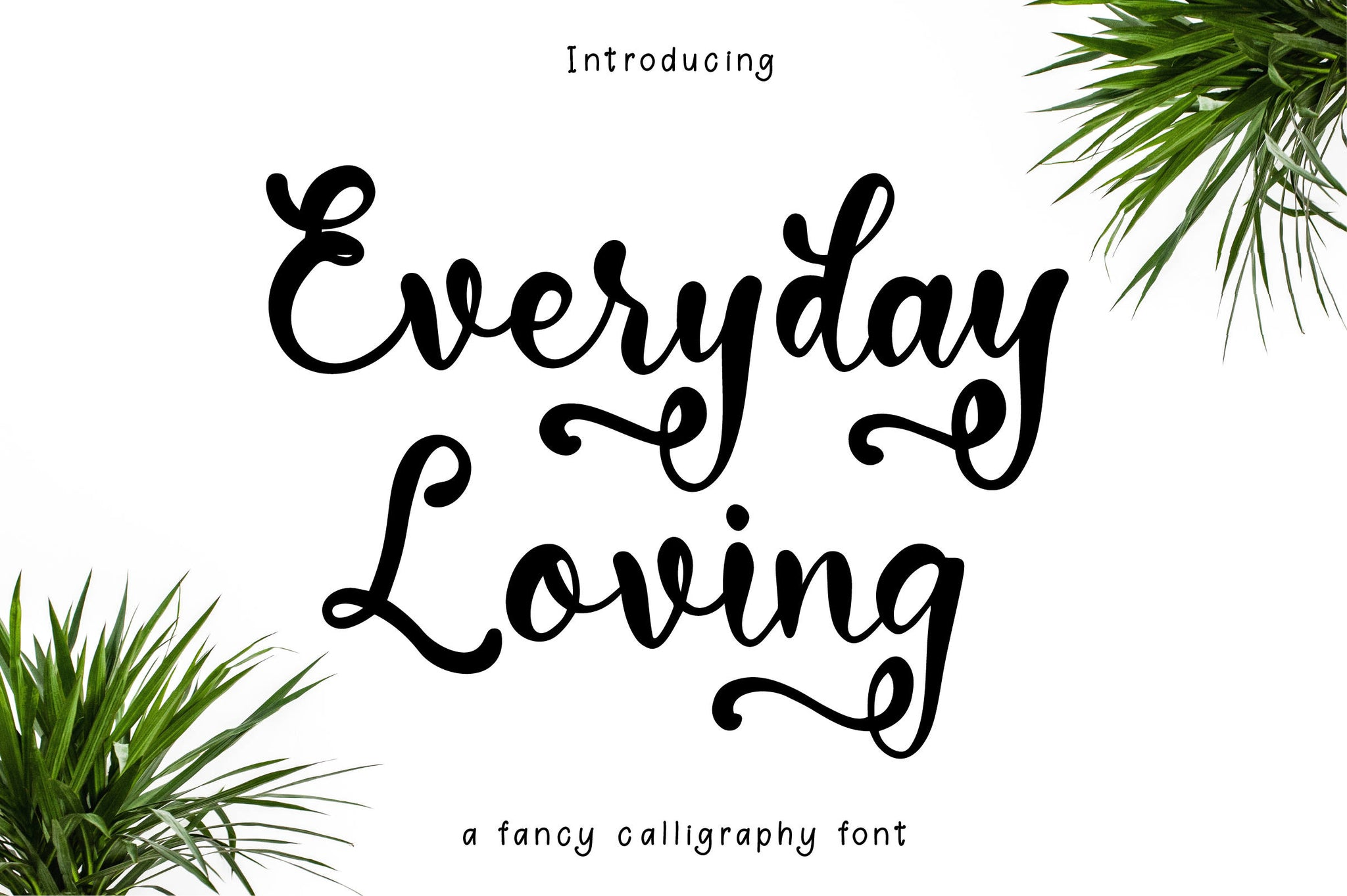 Everyday Loving Modern Calligraphy Font