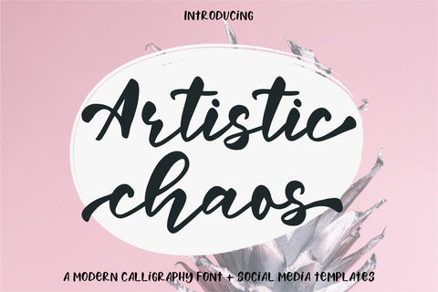 Artistic Chaos Font