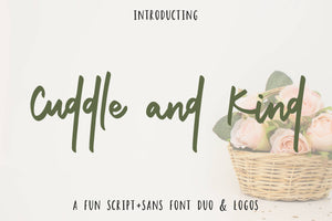 Cuddle and Kind Font