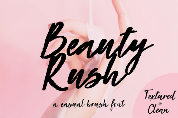 Beauty Rush Calligraphy font