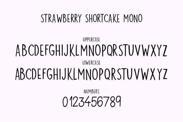 Strawberry Shortcake Logo Kit