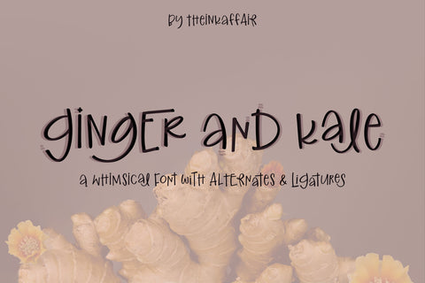 Ginger and Kale Font