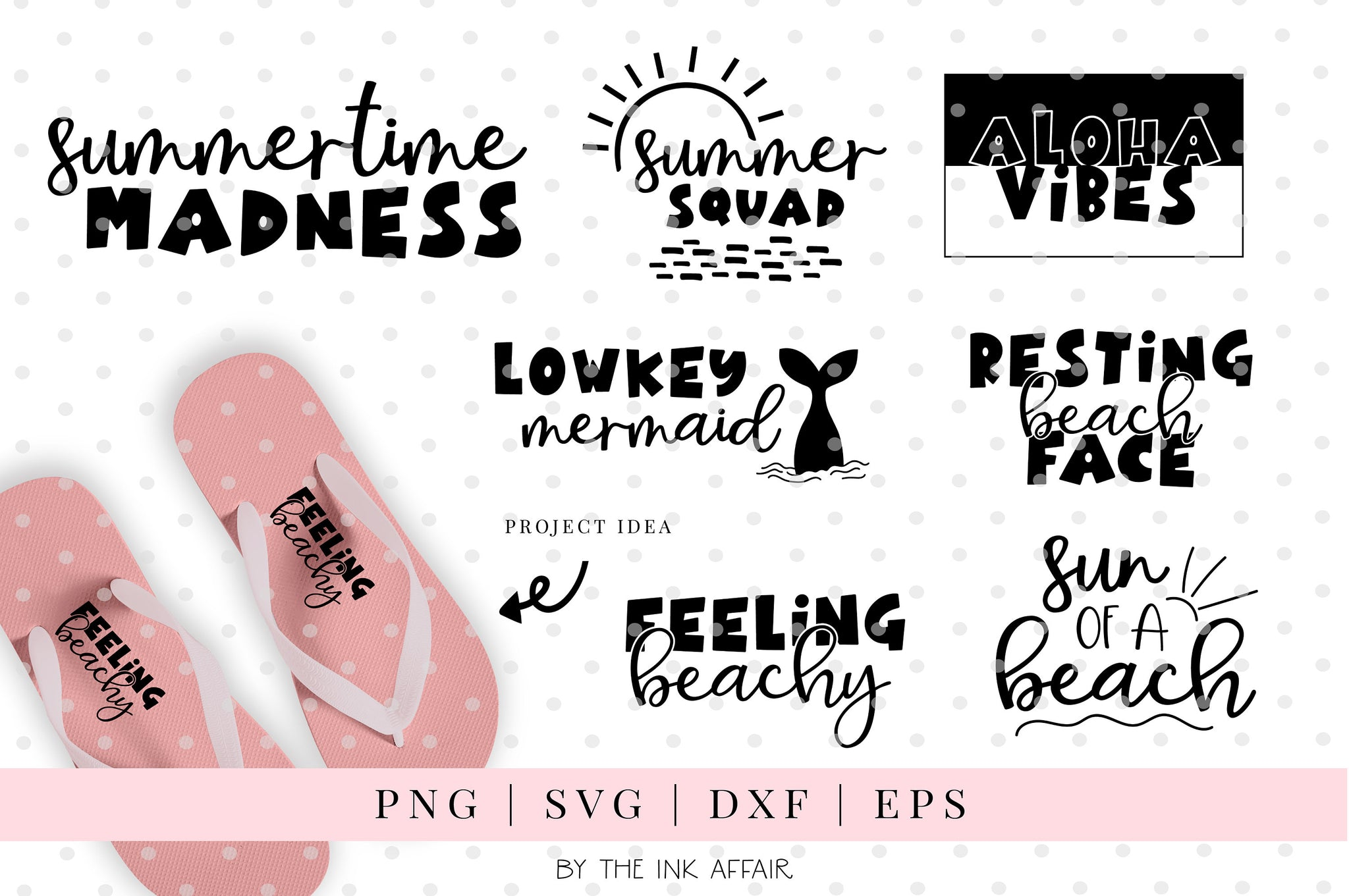 Summer quotes SVG bundle