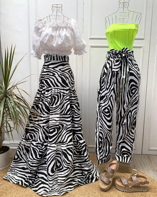 LEAH TIER MAXI SKIRT