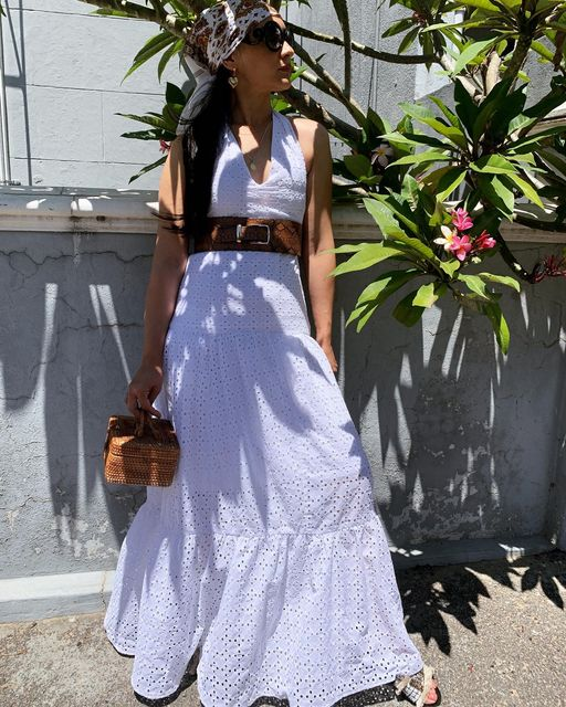 ANGLAISE TIER MAXI DRESS