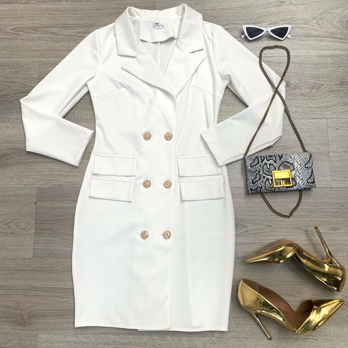 SLEEK FIT BLAZER DRESS