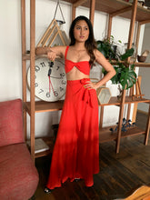 Load image into Gallery viewer, Island Set (Knot Bralette + Frill Wrap Skirt)