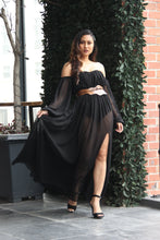 Load image into Gallery viewer, ISABELLA CUFF SLIT MAXI