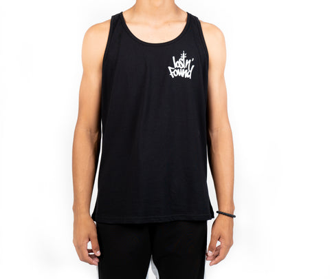 Black lostN'Found Tank Top